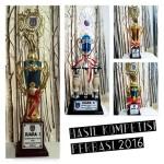 Hasil Kompetisi Perbasi Jakarta Selatan 2016